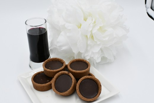 Chocolate Ganache Tartlettes